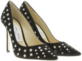 Jimmy Choo ROMY 100mm Perforated Suede Pumps