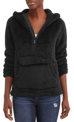 I5 Apparel Climate Concepts Women's Hooded Fluffy Fleece Pullover