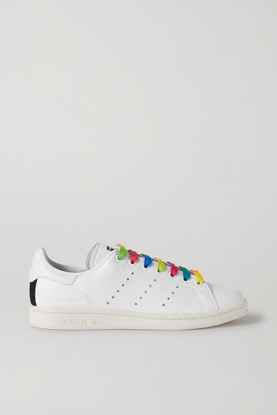 Thumbnail for your product : Stella McCartney + Adidas Originals Stan Smith Vegan Leather Sneakers - White