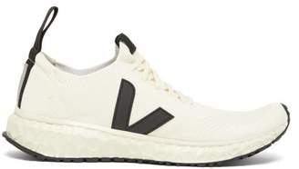 Rick Owens X Veja Logo Applique Trainers - Mens - White
