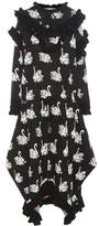 Stella McCartney Printed knitted wool dress