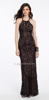 Camille La Vie X Back Sequin Evening Dress