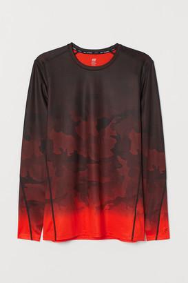 H&M Long-sleeved Sports Shirt