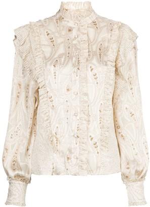 Alexis Eline ruffled blouse