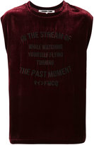 McQ embroidered logo tank top