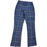 Burberry Blue Trousers