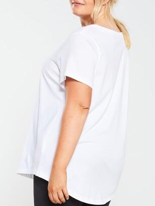 Nike NSWEssential Futura Ss Tee (Curve) - White