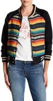 Mother Multi-Color Snap Letterman Jacket