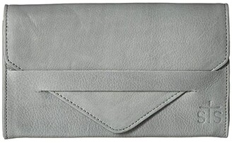 STS Ranchwear Silo Wallet (Grey) Handbags