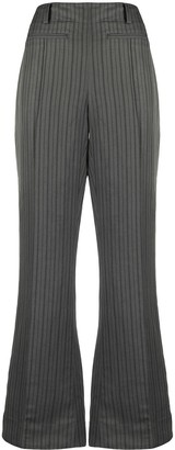 Acne Studios Striped Bootcut Trousers