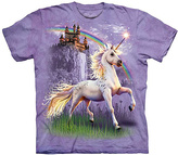 The Mountain Purple Unicorn Castle Tee - Toddler & Girls