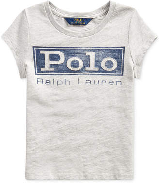 Polo Ralph Lauren Little Girl Cotton Jersey Graphic T-Shirt