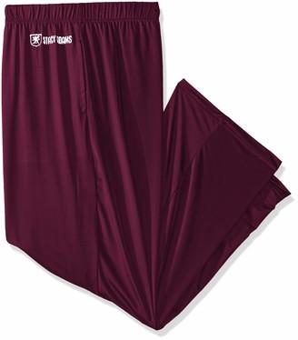 Stacy Adams Mens Big and Tall Sleep Pant Pajama Bottom