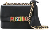 Moschino rainbow plaque shoulder bag - women - Calf Leather - One Size