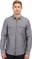 Kenneth Cole New York Men's Ls Mdrn Utly Shirt