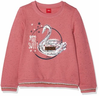 S'Oliver Girls' 53.809.41.7855 Sweatshirt