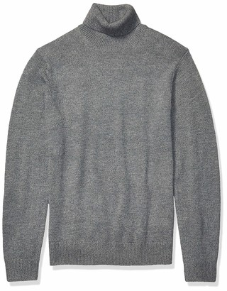 Goodthreads Amazon Brand Men's Supersoft Marled Turtleneck Sweater