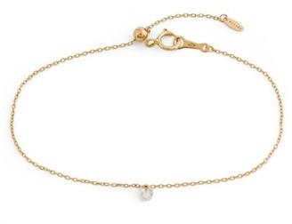 PERSÉE Yellow Gold and Diamond Danae Bracelet