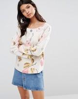 Maison Scotch Allover Printed Sweatshirt