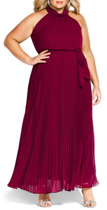 City Chic Honour Maxi Dress