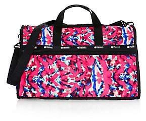 Le Sport Sac Women's x Baron Von Fancy Classic Tie-Dye Weekender Bag