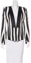 Balmain Structured Striped Blazer