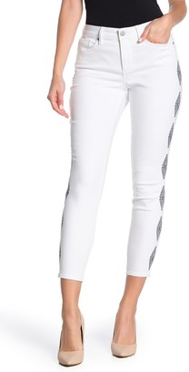 NYDJ Ami Ankle Diamond Skinny Jeans
