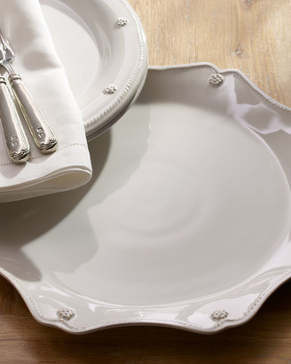 Juliska Berry & Thread White Scallop Charger Plate