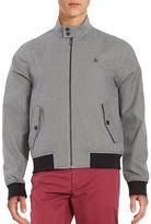 Original Penguin Mock-Turtleneck Houndstooth Cotton Jacket