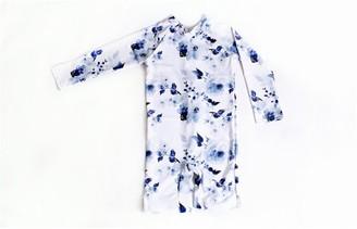 Current Tyed Blue Floral Upf 50 Sunsuit 6m