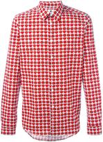 Paul Smith rose print shirt - men - Cotton - XS