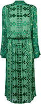 Pierre Balmain printed flared dress