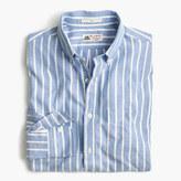 Thomas Mason Slim for J.Crew shirt in brushed striped oxford