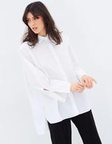 Mng Oversize Cotton Shirt