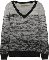Enza Costa Wool and cashmere-blend sweater