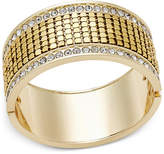 Thalia Sodi Gold-Tone Pavé Hinged Cuff Bracelet, Only at Macy's