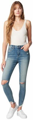 Blank NYC Women's Great Jones HIGH Rise Skinny Blue