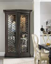 Hooker Furniture Vetrano 2-Door Display Cabinet