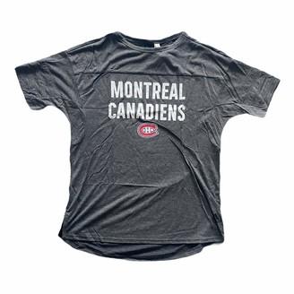 adidas Montreal Canadiens T-Shirt Women's Droptail T-Shirt - Grey - M