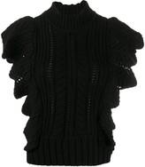 Zadig & Voltaire Zadig&Voltaire Fashion Show ruffle knit jumper