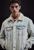 BDG Sherpa Denim Trucker Jacket