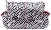Kalencom Zebra Laminated Buckle Diaper Bag