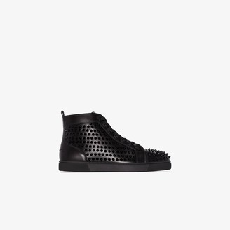 Christian Louboutin Louis spikes high top sneakers
