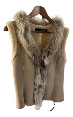 Ventcouvert Beige Leather Coats
