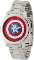 Marvel Captain America Mens Stainless Steel Watch