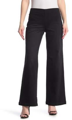 NYDJ Pull-On Wide Leg Jeans