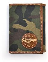Rawlings Sports Accessories RL131 Men's Camo Trifold Wallet