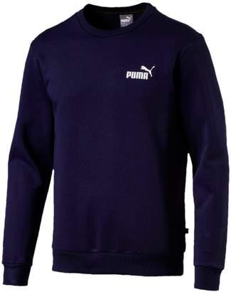 Puma Ess Logo Crew Neck Sweat - Navy