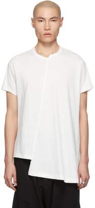 Yohji Yamamoto Off-White Diagonal T-Shirt