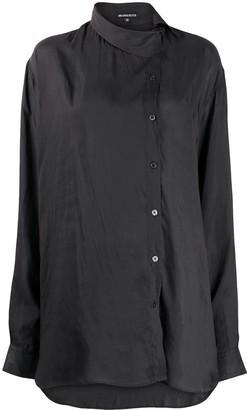 Ann Demeulemeester Asymmetric Long-Sleeved Shirt